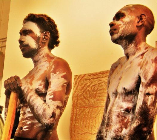 Aboriginal Painting and Musical Performance #1