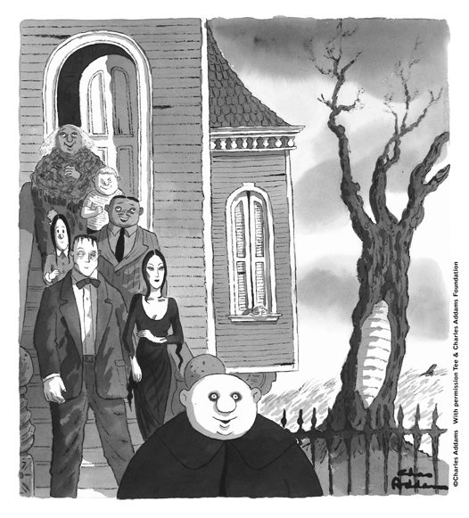 Charles Addams - the man behind 'The Addams Family'