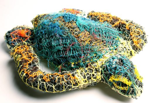 Ghost net art, Ellarose Savage 'Turtle' - E095503 #1