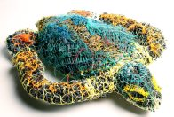Ghost net art, Ellarose Savage Turtle - E095503 #1