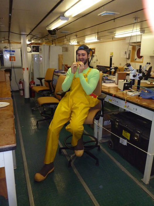 23 April: Feeding habits of the Antarctic Scientist (Scotia Arc Expedition 2013) #1