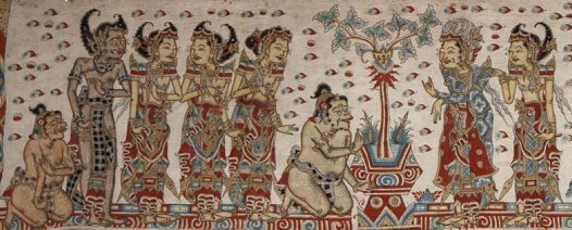 Balinese Painting E94645 AA