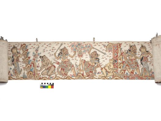Balinese Painting E94645 H
