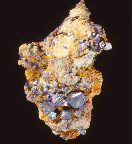 Cuprite and Iodyrite