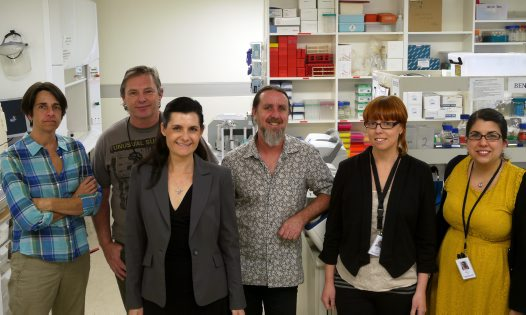 Staff of the Wildlife Genetics and Microscopy Unit