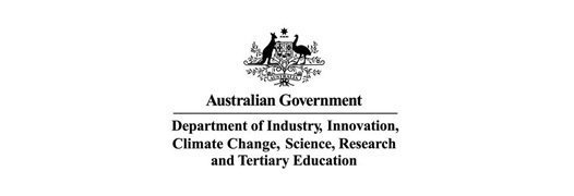Australian Government Department of Industry, Innovation, Climate Change, Science, Research and Tertiary Education Logo (Eureka Prizes)