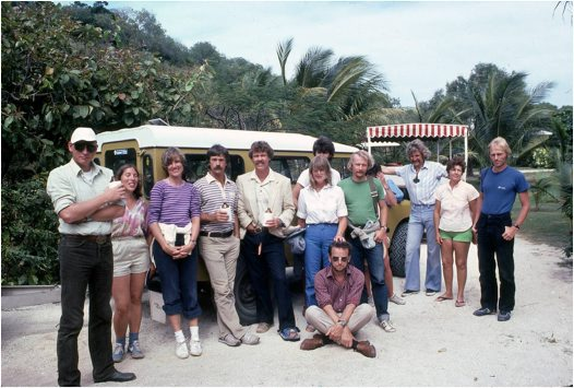 Lizard Island Research Station in 1983