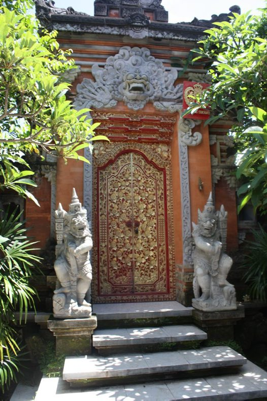 Gate of Puri Agung Sukawati - Gianyar