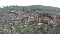 Brush-tailed rock-wallaby habitat, Grampians