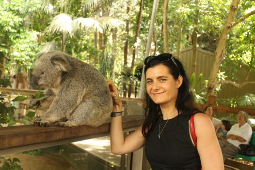Koala and Rebecca Johnson