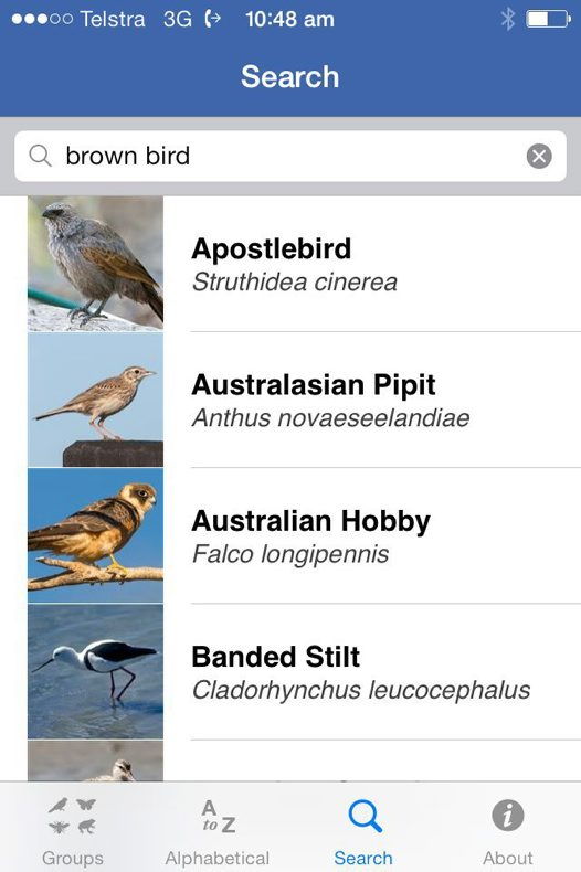 Field Guide to NSW Fauna app #6