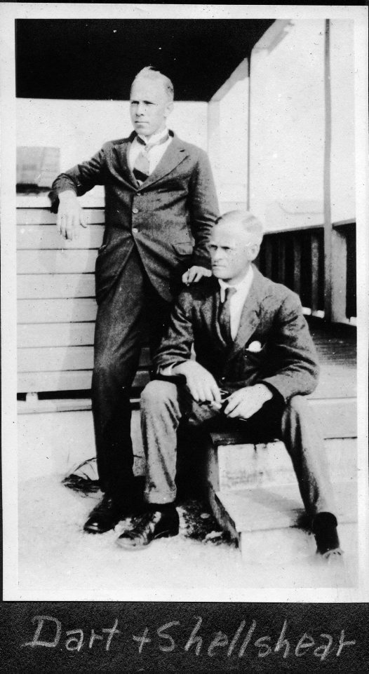 Raymond Dart and Joseph Shelshear
