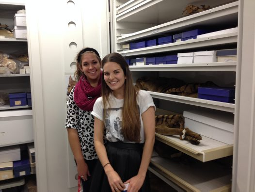 Marissa and Prue, Australian Centre for Wildlife Genomics interns