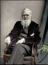 Alfred Russel Wallace in 1895