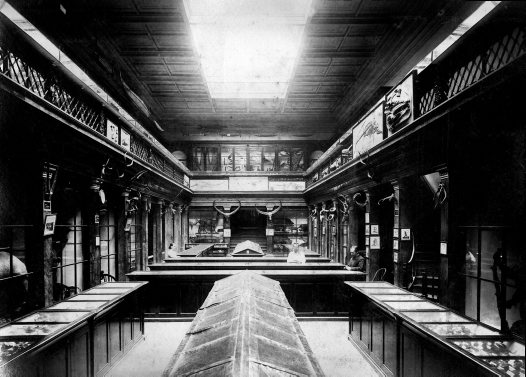 The Long Gallery in the early 1870s