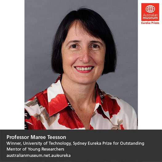 2014 University of Technology, Sydney Eureka Prize for Outstanding Mentor of Young Researchers