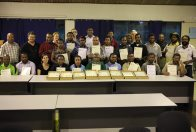 Successful participants in entomology course