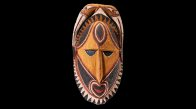 Pacific Spirit: Carved face from Papua New Guinea