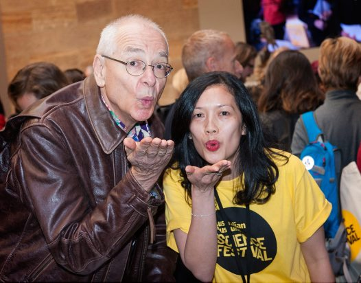 Dr Karl shares the love at SciFest 2014
