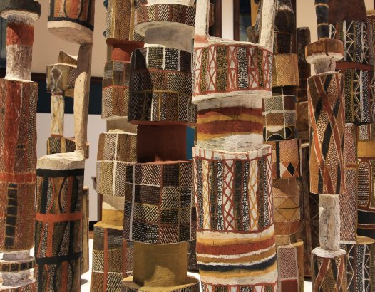 Pukumani Poles in Bayala Nura: Yarning Country