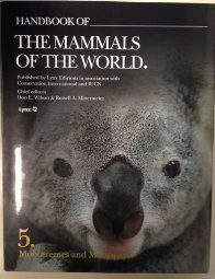 Cover of Handbook of the Mammals of the World