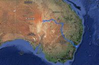 Simpson Desert Expedition 2015 – route