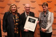 Kim McKay, Robyn Williams and Catherine Livingstone