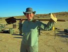 Dr Anja Divljan on the Simpson Desert Expedition 2015