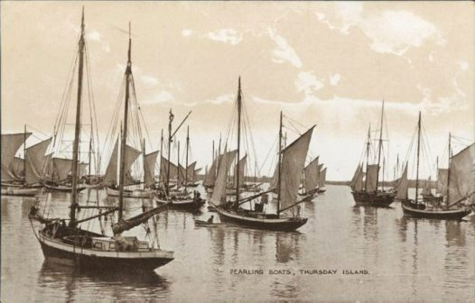 Pearling Boats: Thursday Island, Torres Strait 1918
