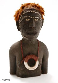 Carving of a girl, Solomon Islands: E59570