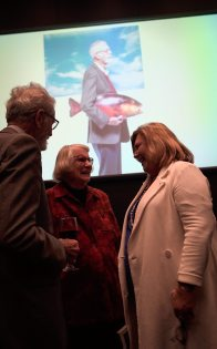 Frank and Suzette Talbot with Kim McKay AO