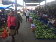 Central marketplace in Honiara, Solomon Islands