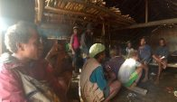 Kwainaa'isi village meeting, Solomon Islands