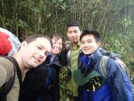 Field team on Mount Fansipan