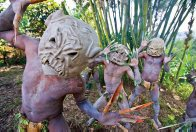 Asaro Mud Men from the Eastern Highlands of Papua New Guinea