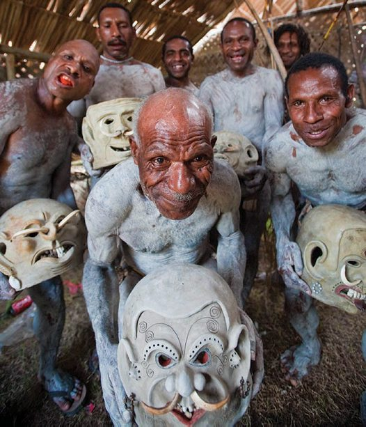 Asaro Mud Men of Papua New Guinea