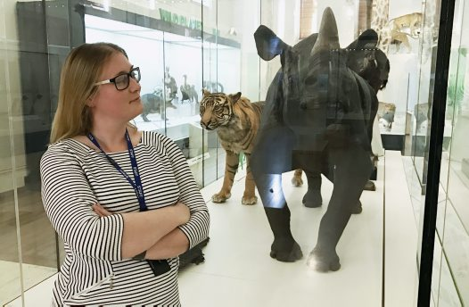 Gillian Scott, Exhibitions Manager at the Australian Museum
