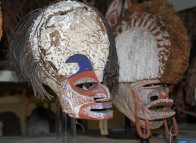 Malagan masks: E536 and E541