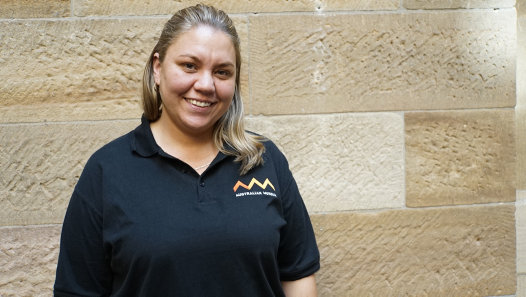 Laura McBride, Creative Producer, Indigenous Programs at the Australian Museum