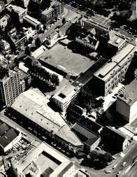 Aerial view of Sydney Grammar School from Yurong Street (1967)