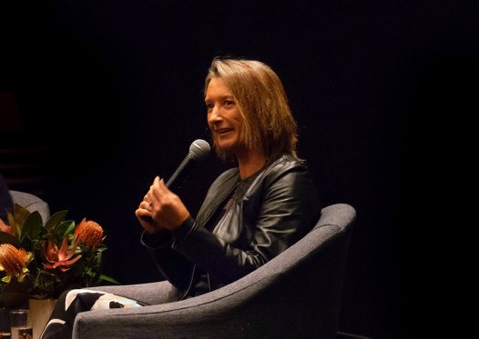 Layne Beachley in conversation at the Australian Museum, 28 August 2018