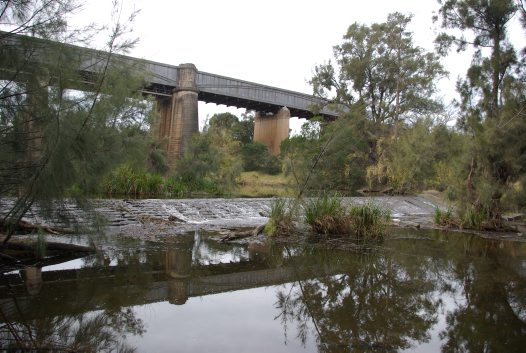 Industrial heritage - Menangle Weir and Viaduct