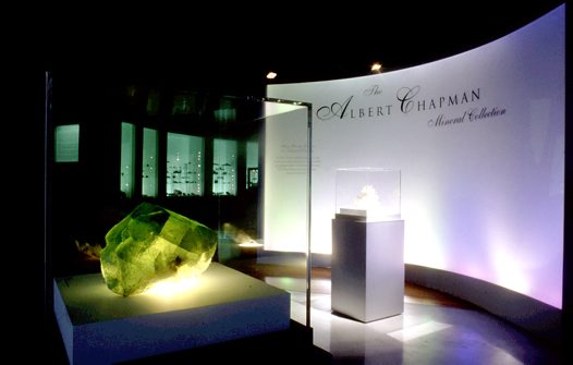 The Albert Chapman Mineral Collection