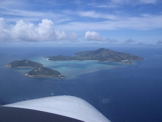 Lizard Island Group aerial