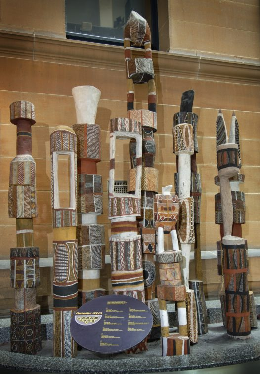 Pukumani Poles from the Tiwi Islands