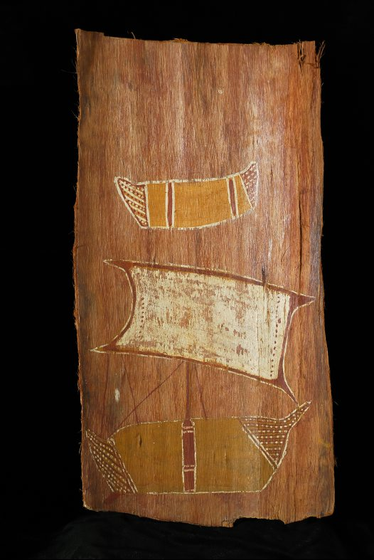 Aboriginal bark painting, Arnhem Land