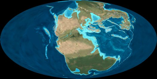 Earth during the Triassic Period