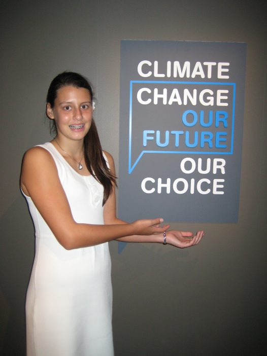 Parrys Raines - climate change our future our choice