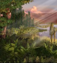 Triassic Landscape