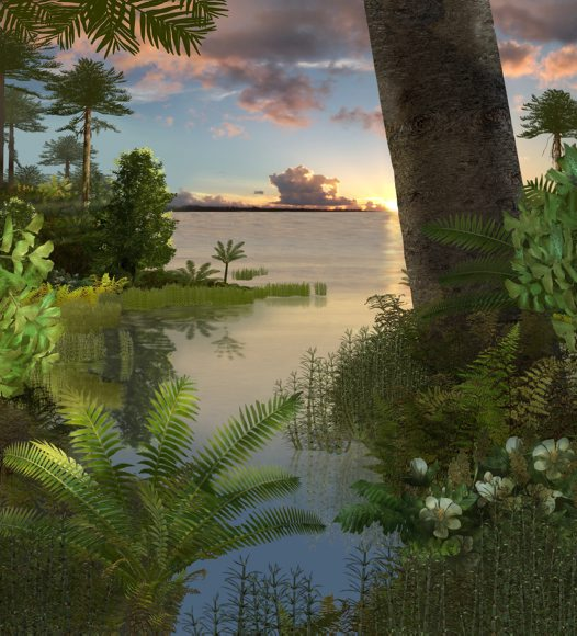 Early Cretaceous Landscape